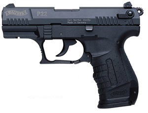 Walther P22 (black, 3.4 barrel)