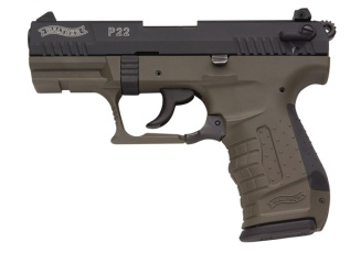 Walther P22 (military, 3.4 barrel)