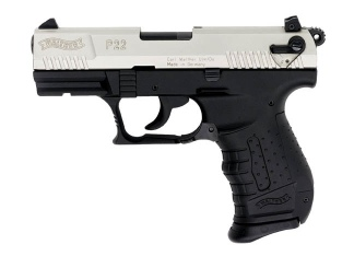 Walther P22 (3.4 inch barrel, Nickel)